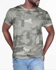 Camo Great Pyrenees All-over T-Shirt aos-all-over-T-shirt-lifestyle-front-04