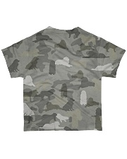 Camo Great Pyrenees All-over T-Shirt back