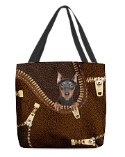 Doberman Pinscher All-over Tote front