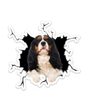 Cavalier King Charles Sticker - Single (Vertical) front