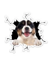Australian Shepherd Sticker - Single (Vertical) front