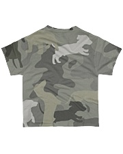 Dachshund - Camouflage All-over T-Shirt back