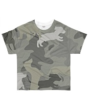 Dachshund - Camouflage All-over T-Shirt front