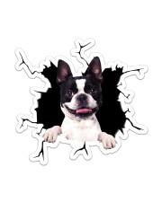 Boston Terrier Sticker - Single (Vertical) front