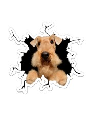 Airedale Terrier Sticker - Single (Vertical) front