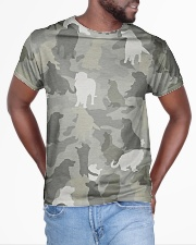 Camo Golden Retriever  All-over T-Shirt aos-all-over-T-shirt-lifestyle-front-04