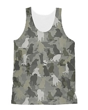 Camo Golden Retriever  All-over Unisex Tank thumbnail