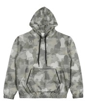 Camo American Cocker Spaniel Women's All Over Print Hoodie thumbnail