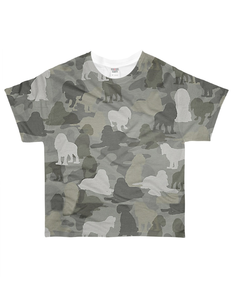 Camo American Cocker Spaniel All-over T-Shirt