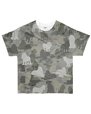 Camo American Cocker Spaniel All-over T-Shirt front