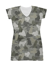Camo American Cocker Spaniel All-over Dress thumbnail