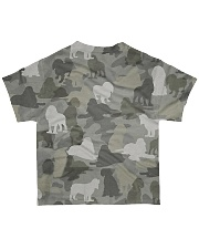 Camo American Cocker Spaniel All-over T-Shirt back