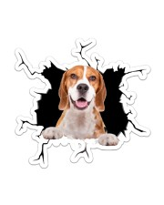Beagle Sticker - Single (Vertical) front