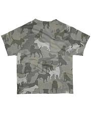 Camo Pitbull All-over T-Shirt back