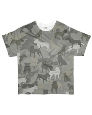 Camo Pitbull All-over T-Shirt front