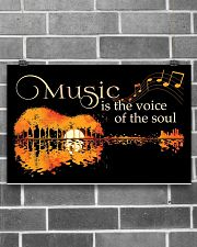 Music Is The Voice Of Soul Jungle Guitar 17x11 Poster poster-landscape-17x11-lifestyle-18