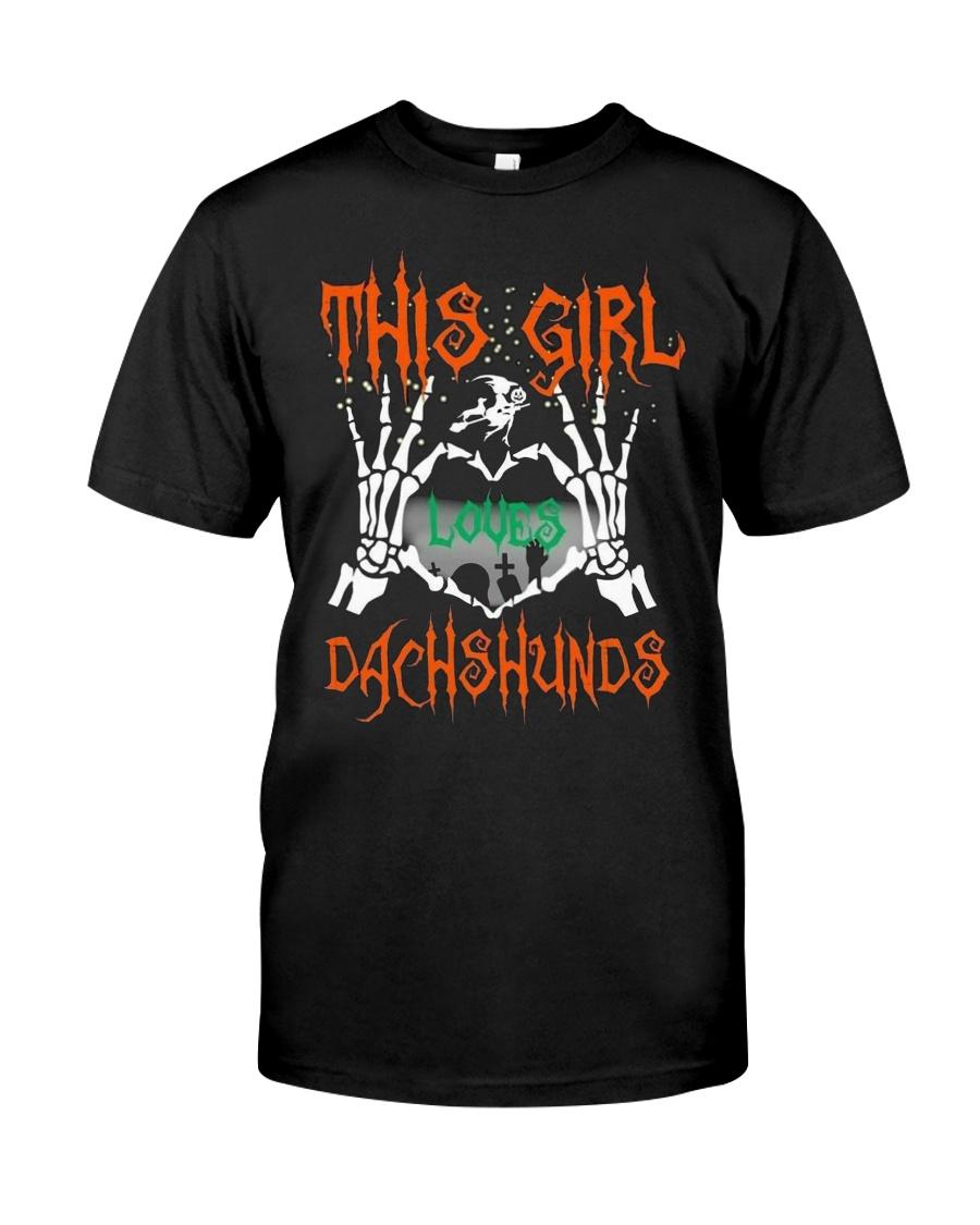 Dachshund - This girl loves Dachshunds Classic T-Shirt