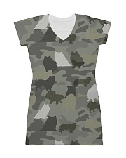 Camo Rough Collie All-over Dress thumbnail
