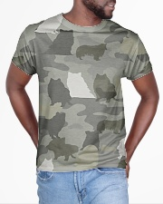Camo Rough Collie All-over T-Shirt aos-all-over-T-shirt-lifestyle-front-04