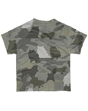 Camo Rough Collie All-over T-Shirt back