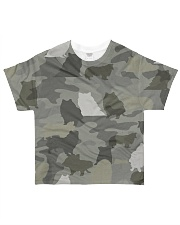 Camo Rough Collie All-over T-Shirt front