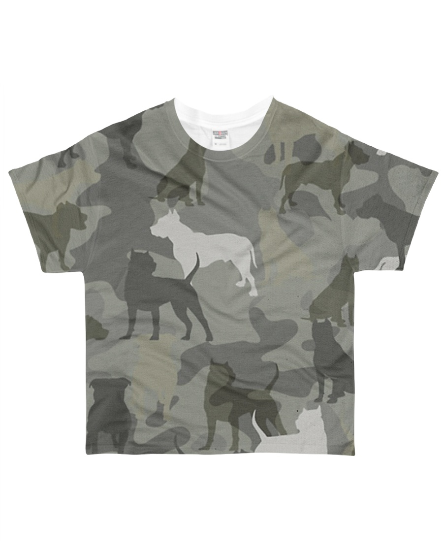 Pitbull - Camouflage All-over T-Shirt