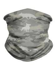 Camo German Shepherd-camouflage Square Pillowcase Neck Gaiter thumbnail