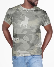 Camo German Shepherd-camouflage Square Pillowcase All-over T-Shirt aos-all-over-T-shirt-lifestyle-front-04