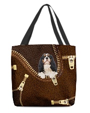 Cavalier King Charles All-over Tote front