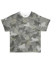 Camo Australian Shepherd All-over T-Shirt front