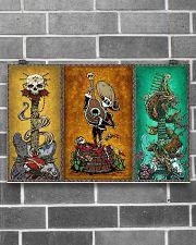 Guitar Skeleton 17x11 Poster poster-landscape-17x11-lifestyle-18