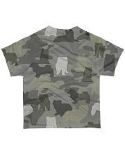 Camo Pomsky All-over T-Shirt back