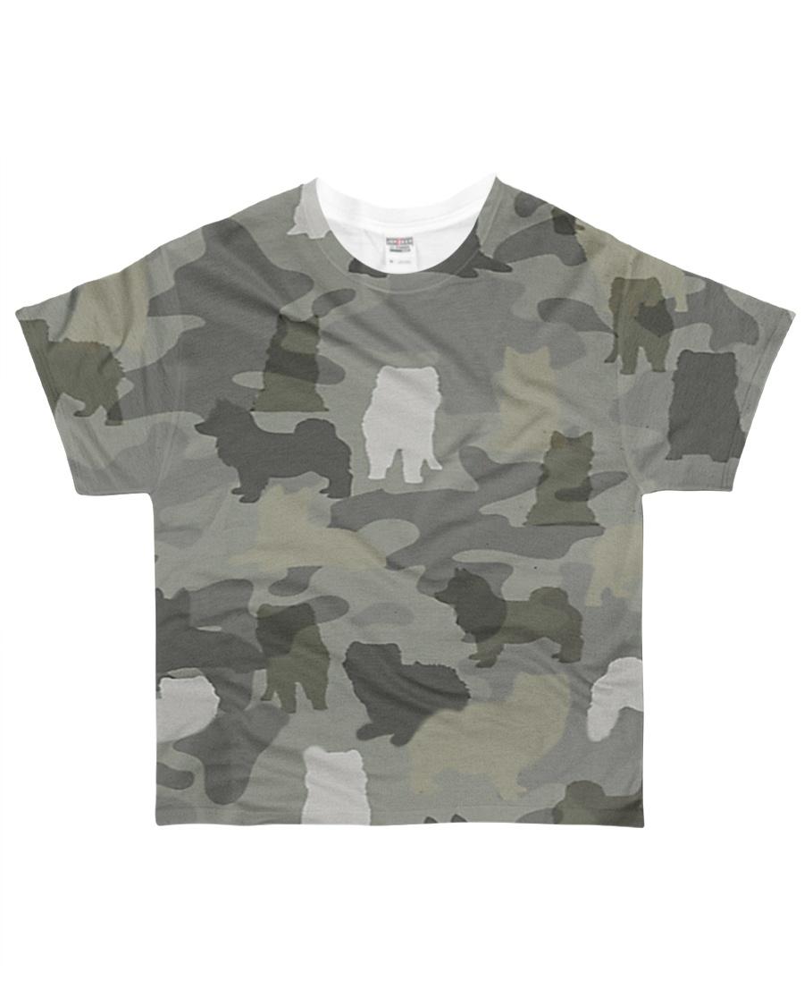 Camo Pomsky All-over T-Shirt