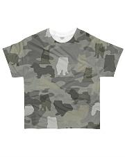 Camo Pomsky All-over T-Shirt front