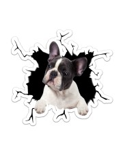 French bulldog Sticker - Single (Vertical) front