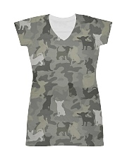 Camo Chihuahua All-over Dress thumbnail