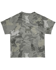 Camo Chihuahua All-over T-Shirt back