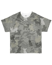 Camo Chihuahua All-over T-Shirt front