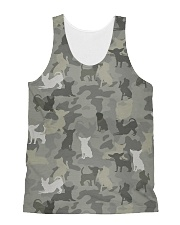 Camo Chihuahua All-over Unisex Tank thumbnail