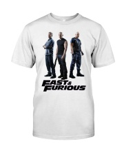Fast and furious  Classic T-Shirt front