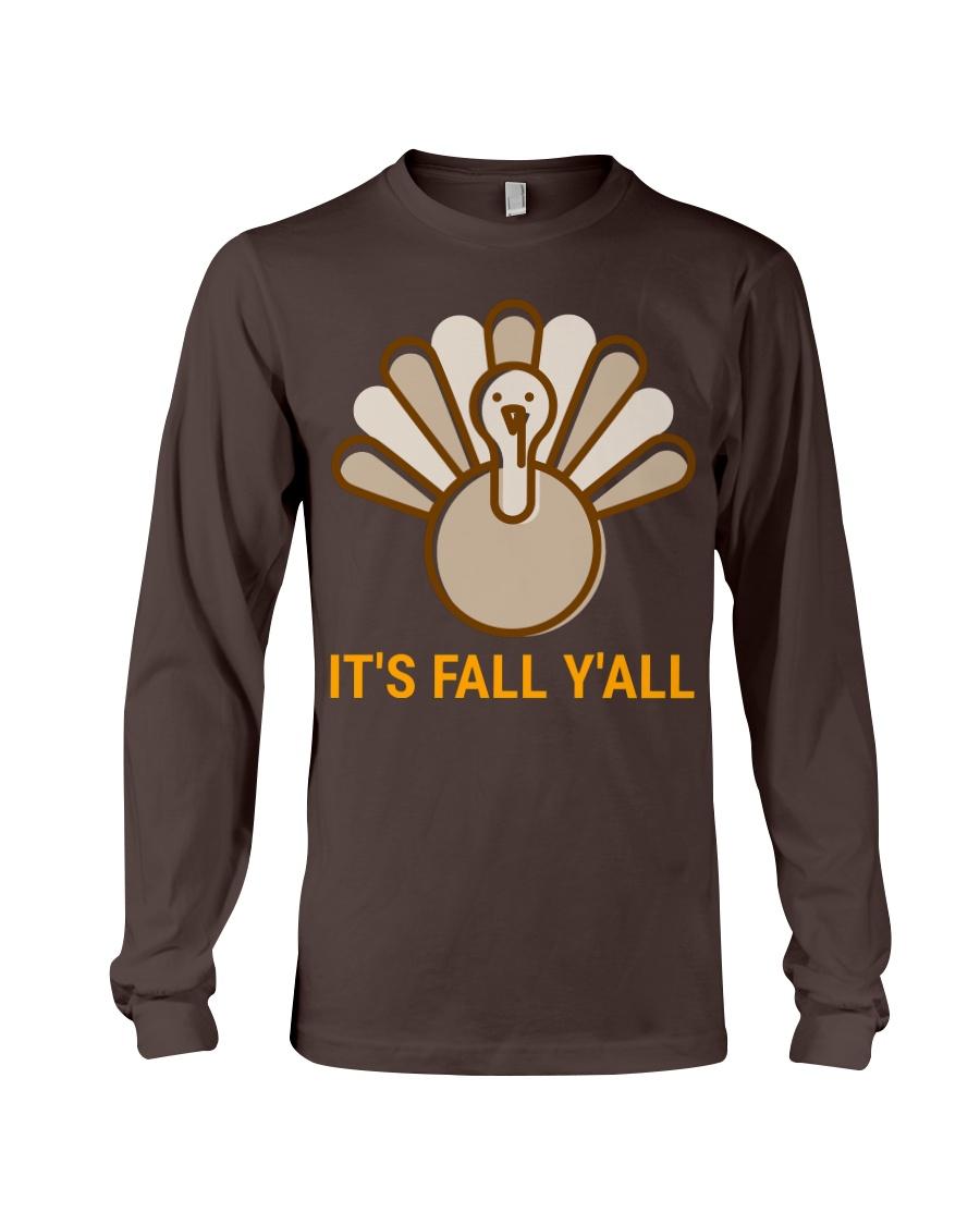 Its Fall Yall 2 Long Sleeve Tee