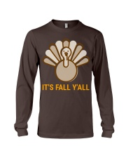 Its Fall Yall 2 Long Sleeve Tee front