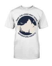 Take the long way home adventure awaits Classic T-Shirt thumbnail