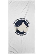Take the long way home adventure awaits Bath Towel thumbnail