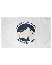 Take the long way home adventure awaits Woven Rug - 3' x 2' front