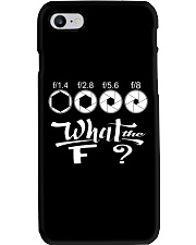 WHAT THE F Phone Case thumbnail