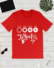 WHAT THE F Classic T-Shirt lifestyle-mens-crewneck-front-17