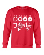 WHAT THE F Crewneck Sweatshirt front