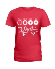 WHAT THE F Ladies T-Shirt front