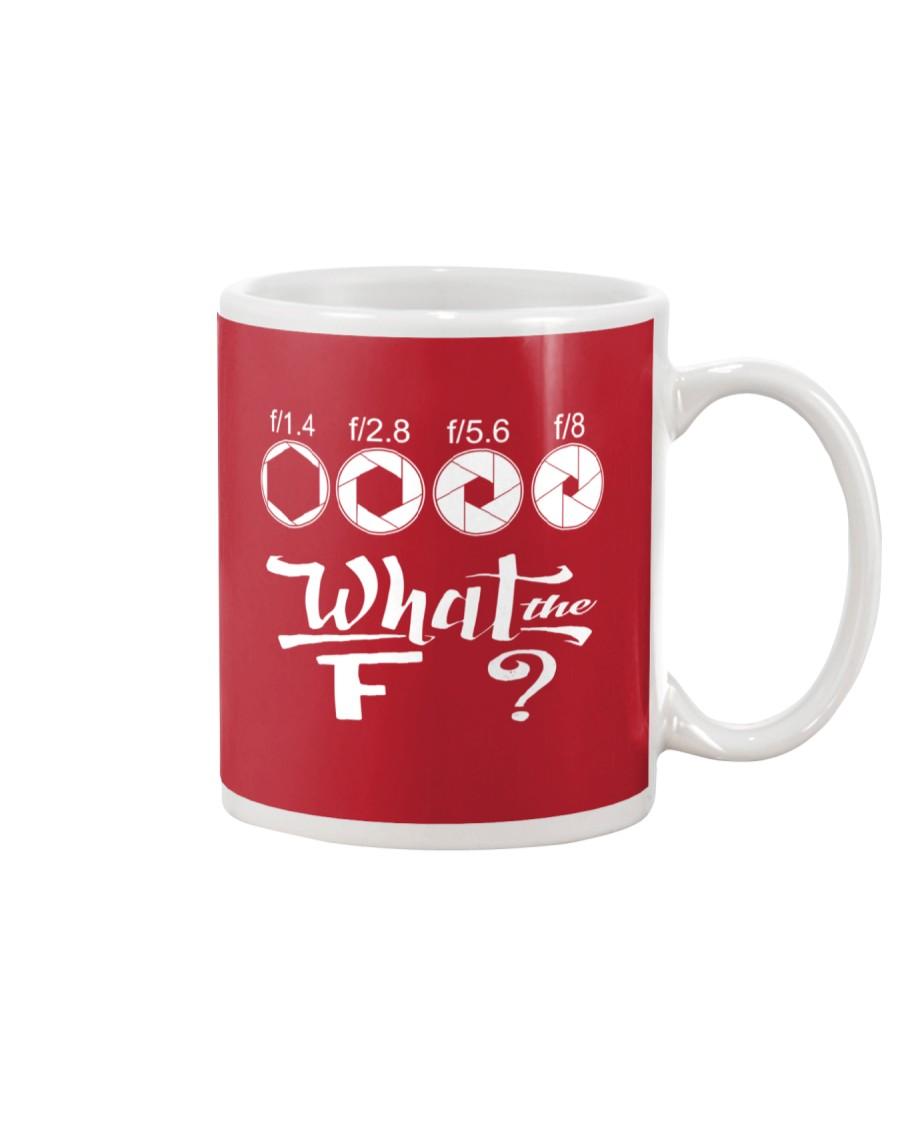 WHAT THE F Mug